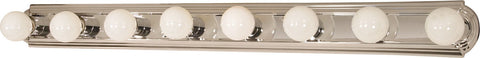 Nuvo 60-299 - Vanity Light Bar Racetrack Style in Polished Chrome Finish