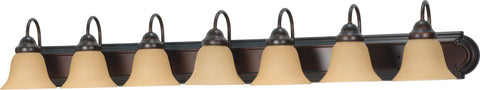 "Nuvo 60-3115 - 48"" Vanity Lighting Fixture in Mahogany Bronze Finish"