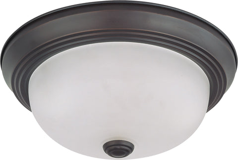 "Nuvo 60-3145 - 11"" Small Flush Mount Ceiling Light Fixture"