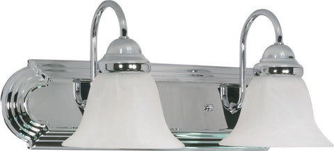 Nuvo 60-316 - Wall Mounted Vanity Fixture in Polished Chrome Finish