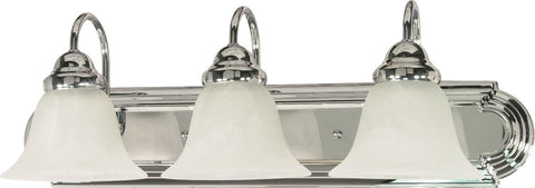 Nuvo 60-317 - Wall Mounted Vanity Fixture in Polished Chrome Finish