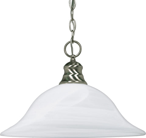 Nuvo 60-3198 - Hanging Pendant Light Fixture in Brushed Nickel Finish