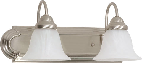 Nuvo 60-320 - Wall Mounted Vanity Fixture in Brushed Nickel Finish