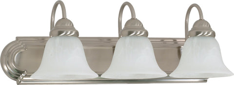 Nuvo 60-321 - Wall Mounted Vanity Fixture in Brushed Nickel Finish