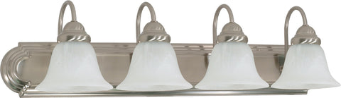 Nuvo 60-322 - Wall Mounted Vanity Fixture in Brushed Nickel Finish