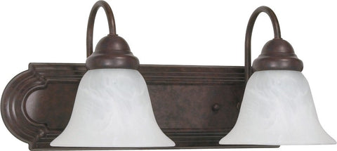Nuvo 60-324 - Wall Mounted Vanity Fixture in Old Bronze Finish