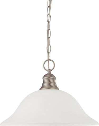 Nuvo 60-3258 - Hanging Pendant Light Fixture in Brushed Nickel Finish