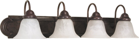Nuvo 60-326 - Wall Mounted Vanity Fixture in Old Bronze Finish