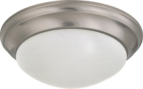 Nuvo 60-3272 - Twist & Lock Dome Medium Flush Mount Ceiling Light