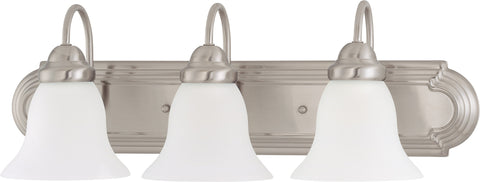 Nuvo 60-3279 - Vanity Light Fixture in Brushed Nickel Finish