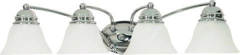 Nuvo 60-339 - Wall Mounted Vanity Fixture in Polished Chrome Finish