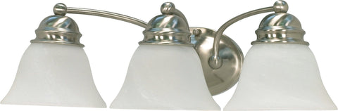 Nuvo 60-342 - Wall Mounted Vanity Fixture in Brushed Nickel Finish