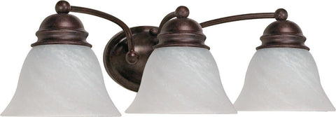 Nuvo 60-346 - Wall Mounted Vanity Fixture in Old Bronze Finish