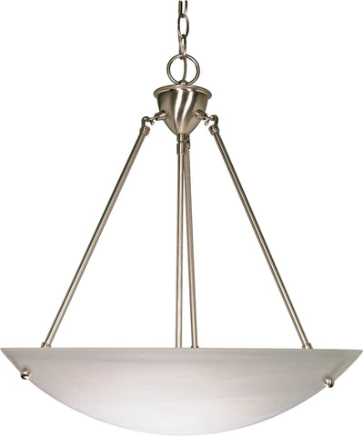 Nuvo 60-370 - Hanging Pendant Light Fixture in Brushed Nickel Finish