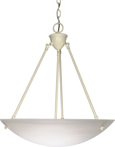 Nuvo 60-373 - Hanging Pendant Light Fixture in Textured White Finish