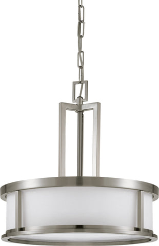 Nuvo 60-3807 - Pendant Light Fixture in Brushed Nickel Finish