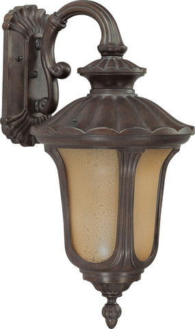 Nuvo 60-3906 - Small Outdoor Wall Lantern (Arm Down)
