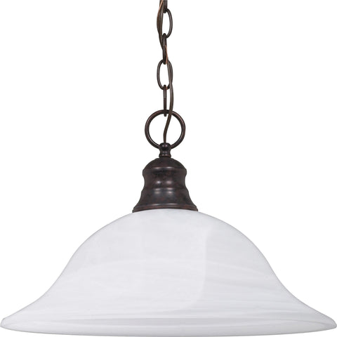 Nuvo 60-391 - Dome Hanging Pendant Light in Old Bronze Finish