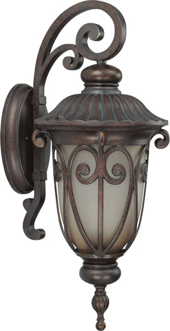 Nuvo 60-3922 - Large Outdoor Wall Lantern (Arm Down)
