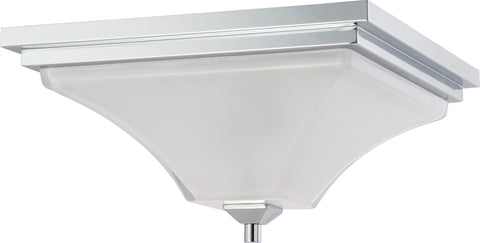 Nuvo 60-4006 - Flush Mount Ceiling Light in Polished Chrome Finish