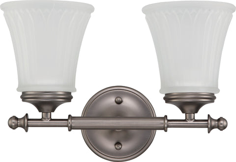 Nuvo 60-4012 - Vanity Light Fixture in Aged Pewter Finish