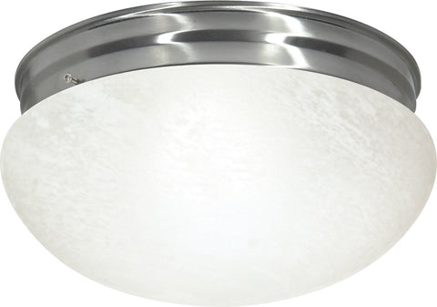 Nuvo 60-414 - Large Flush Mount Ceiling Light in Brushed Nickel Finish