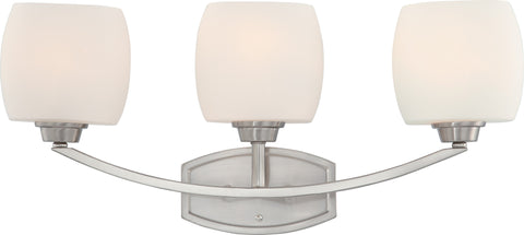 Nuvo 60-4183 - Vanity Light Fixture in Brushed Nickel Finish