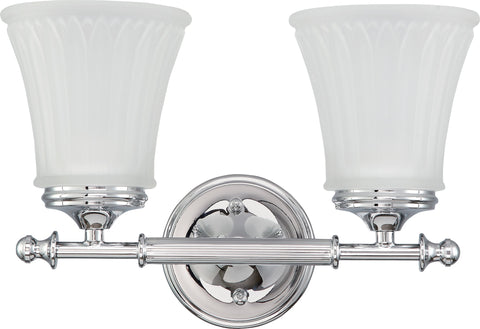 Nuvo 60-4262 - Vanity Light Fixture in Polished Chrome Finish