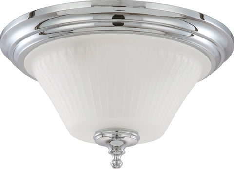 Nuvo 60-4272 - Dome Flush Mount Lighting Fixture in Polished Chrome Finish