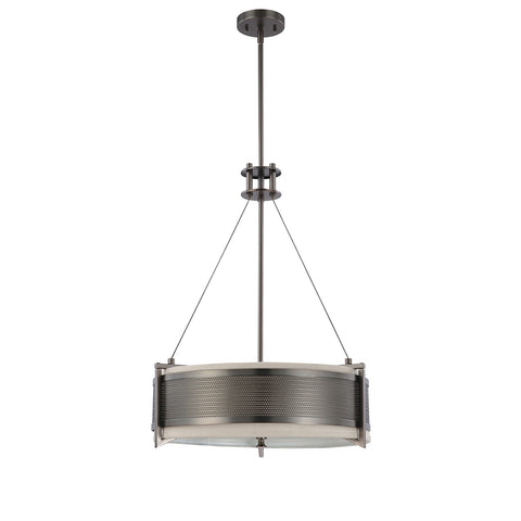 Nuvo 60-4433 - Contemporary Pendant Lighting Fixture in Hazel Bronze Finish