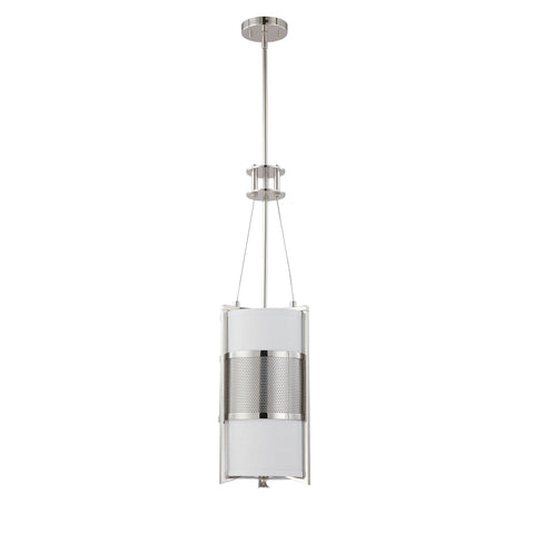 Nuvo 60-4441 - Contemporary Pendant Lighting Fixture in Polished Nickel Finish