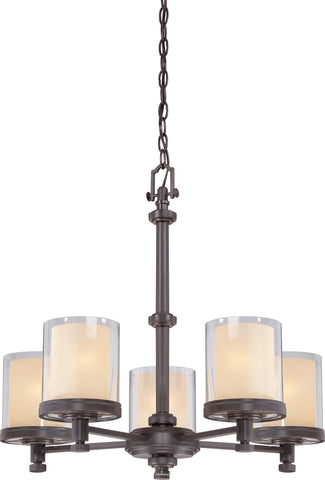Nuvo 60-4545 - Chandelier in Sudbury Bronze Finish