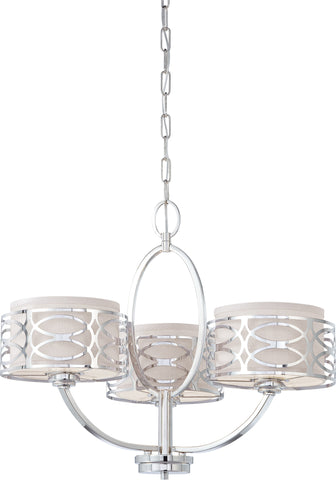 Nuvo 60-4624 - Chandelier in Polished Nickel Finish
