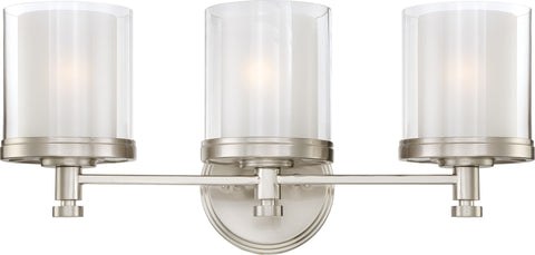 Nuvo 60-4643 - Vanity Light Fixture in Brushed Nickel Finish