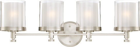 Nuvo 60-4644 - Chandelier in Brushed Nickel Finish