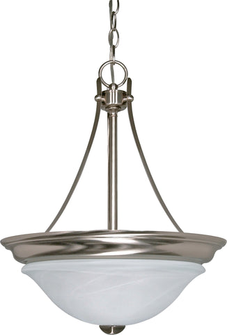 Nuvo 60-465 - Hanging Pendant Light Fixture (Close-to-Ceiling Conversion Kit Included)