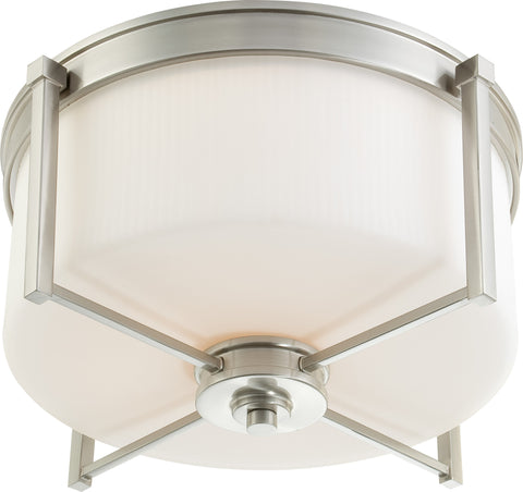 Nuvo 60-4712 - Flush Mount Ceiling Light in Brushed Nickel Finish