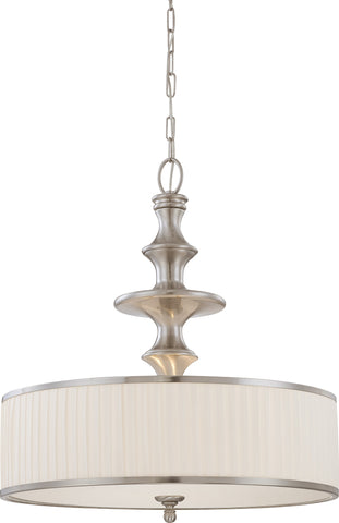 Nuvo 60-4736 - Pendant Light Fixture in Brushed Nickel Finish