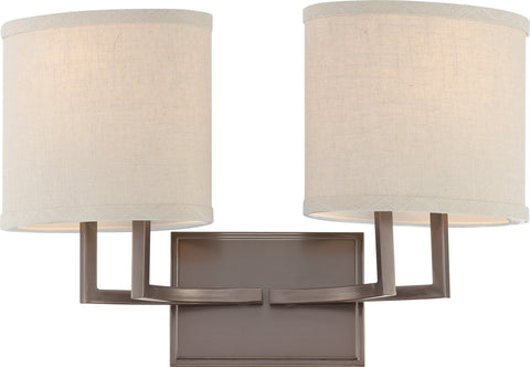 Nuvo 60-4852 - Vanity Lighting Fixture in Hazel Bronze Finish