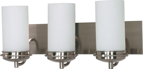 Nuvo 60-496 - Wall Mounted Vanity Fixture in Brushed Nickel Finish