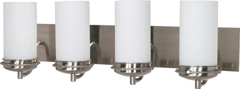 Nuvo 60-497 - Wall Mounted Vanity Fixture in Brushed Nickel Finish