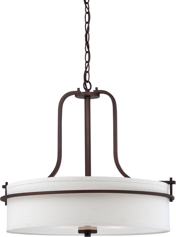 Nuvo 60-5008 - Pendant Light Fixture in Venetian Bronze Finish