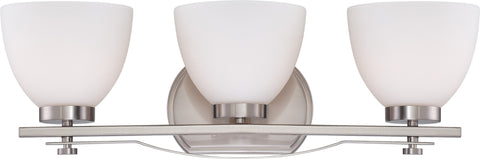Nuvo 60-5013 - Wall Mounted Vanity Light in Brushed Nickel Finish