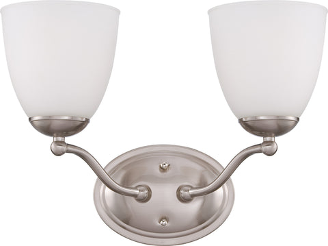 Nuvo 60-5032 - Wall Mounted Vanity Light in Brushed Nickel Finish