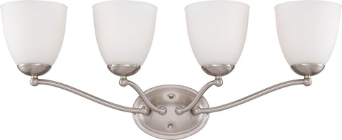 Nuvo 60-5034 - Wall Mounted Vanity Light in Brushed Nickel Finish