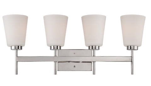 Nuvo 60-5214 - Wall Mounted Vanity Light in Polished Nickel Finish