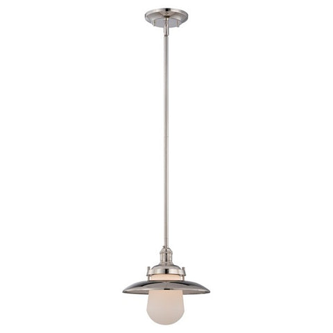 Nuvo 60-5421 - Mini Pendant Light Fixture in Polished Nickel