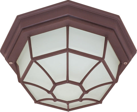 Nuvo 60-579 - Spider Cage Ceiling Light Fixture in Old Bronze Finish