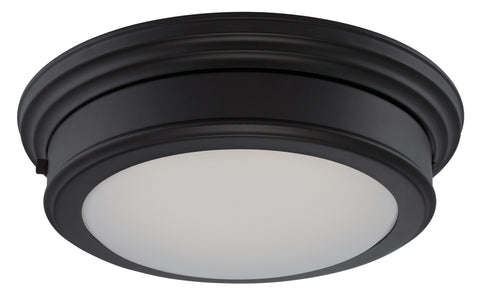 Nuvo 62-152 - 1-Light LED Flush Mount Ceiling Light in Aged Bronze Finish