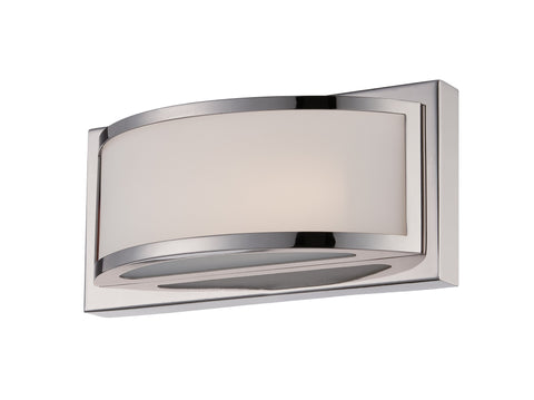 Nuvo 62-311 - 1-Light Wall Mounted LED Wall Sconce in Polished Nickel Finish